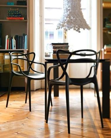 La silla Masters de Philippe Starck y sus 'fuentes' de inspiración