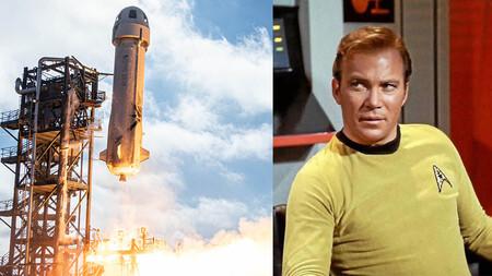 De la ficción a la realidad, William Shatner, capitán de la USS Enterprise en Star Trek, irá al espacio en el próximo vuelo de Blue Origin