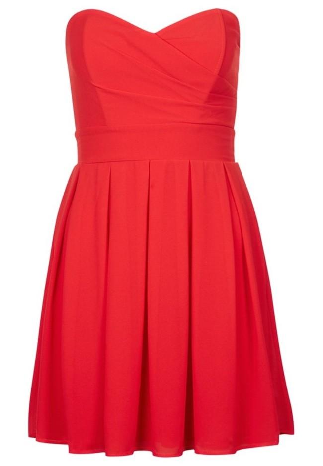 10/10 Vestido Rojo Corto de