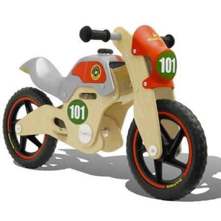 Motos en madera para pequeños motoristas