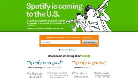 Ya es oficial: Spotify llega a Estados Unidos