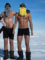 Ay el Polo Norte. Ay Alex Skarsgard. Ay...