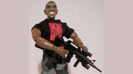 El muñeco de Obama