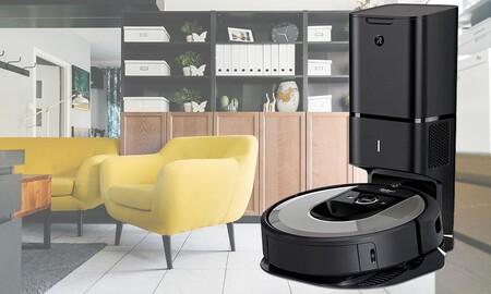 Precio mínimo en Amazon para uno de los robots aspiradores más completos de iRobot: el Roomba i7+ cuesta 649 euros en Amazon