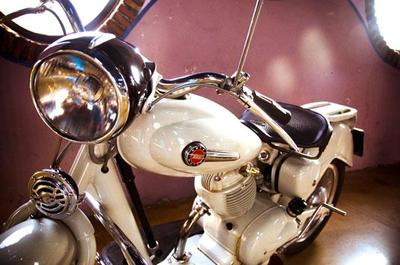 Museo de la Moto Clásica en Hervás, Extremadura