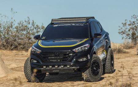 El Hyundai Tucson se hace más todoterreno de la mano de Rockstar Performance Garage