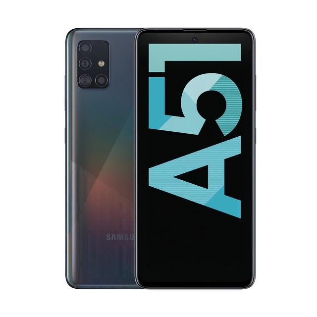 """Samsung Galaxy A51: Pantalla Super Amoled FHD+ de 6'5"""", Procesador 8 núcleos, 4 GB RAM, 128 GB ROM, 4 cámaras traseras y 1 delantera, Batería de 4.000 mAh"""