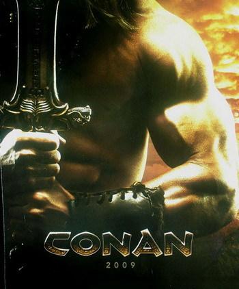 Teaser póster de 'Conan'