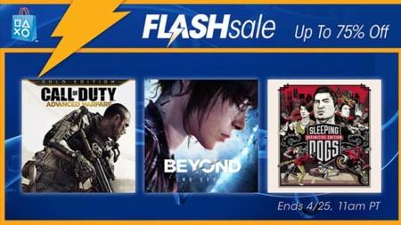 Venta Flash en la PSN del 22 al 25 de abril