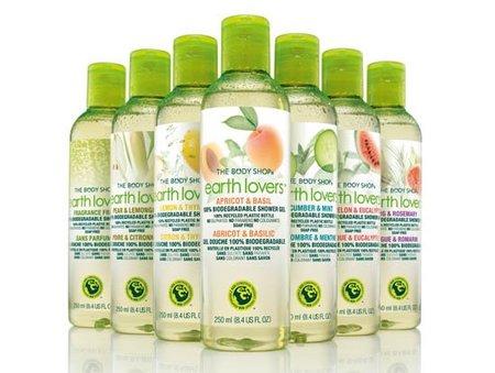 Body Shop lanza un gel de baño 100% biodegradable