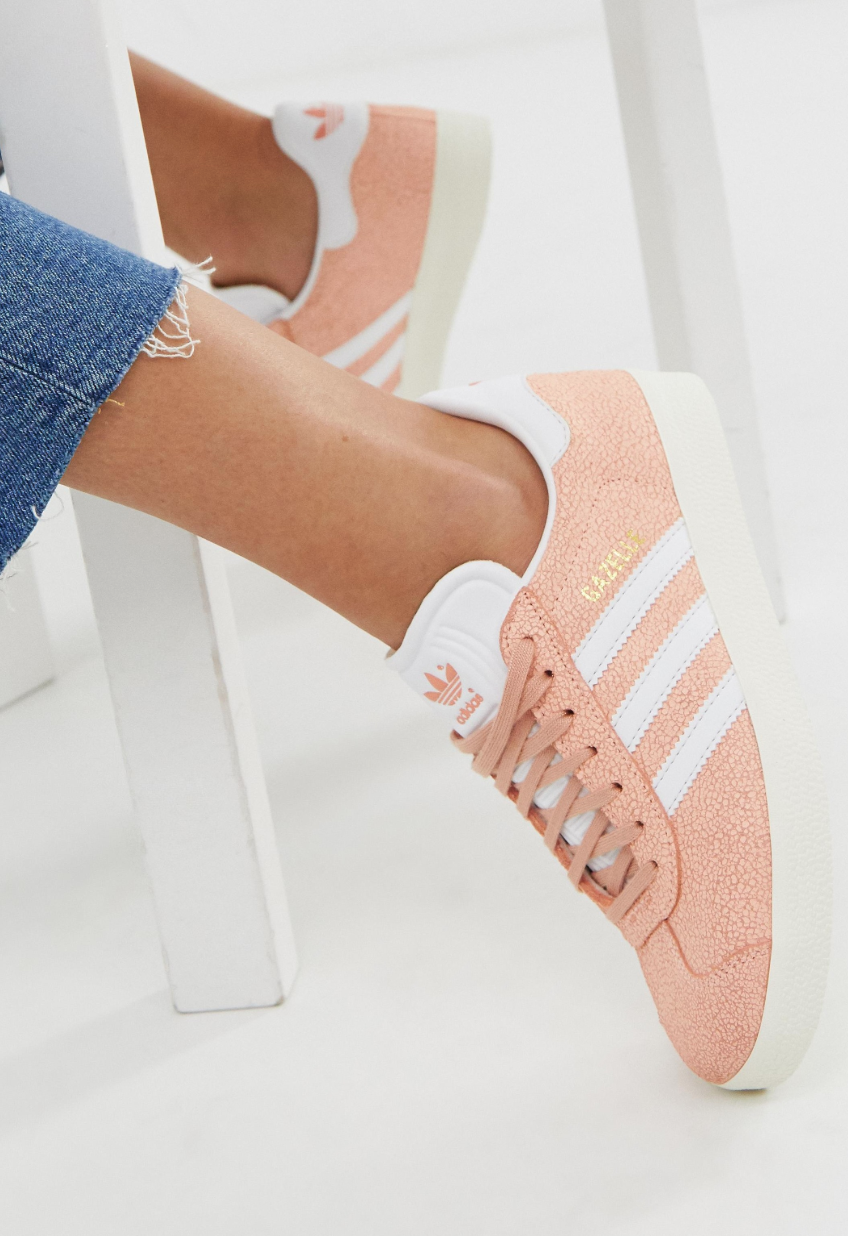 Zapatillas de deporte en naranja Gazelle de adidas Originals