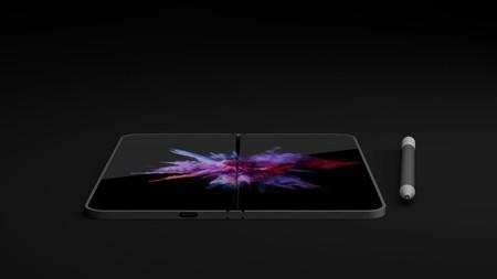 Este diseño podría la base en la que Microsoft edificaría su nuevo dispositivo con pantalla flexible