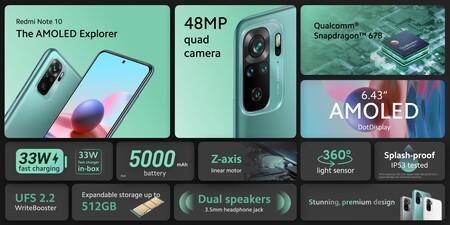 Xiaomi Redmi Note 10 Oficial Caracteristicas Tecnicas