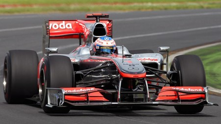 Button Australia F1 2012