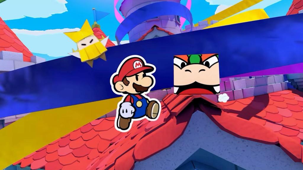 Jugamos a Paper Mario: The Origami King, un regreso a medio camino entre la vertiente clásica de la saga y la moderna