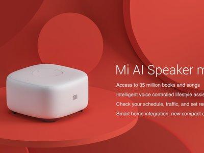 Xiaomi Mi Speaker Mini, el altavoz inteligente de Xiaomi se hace aún más pequeño