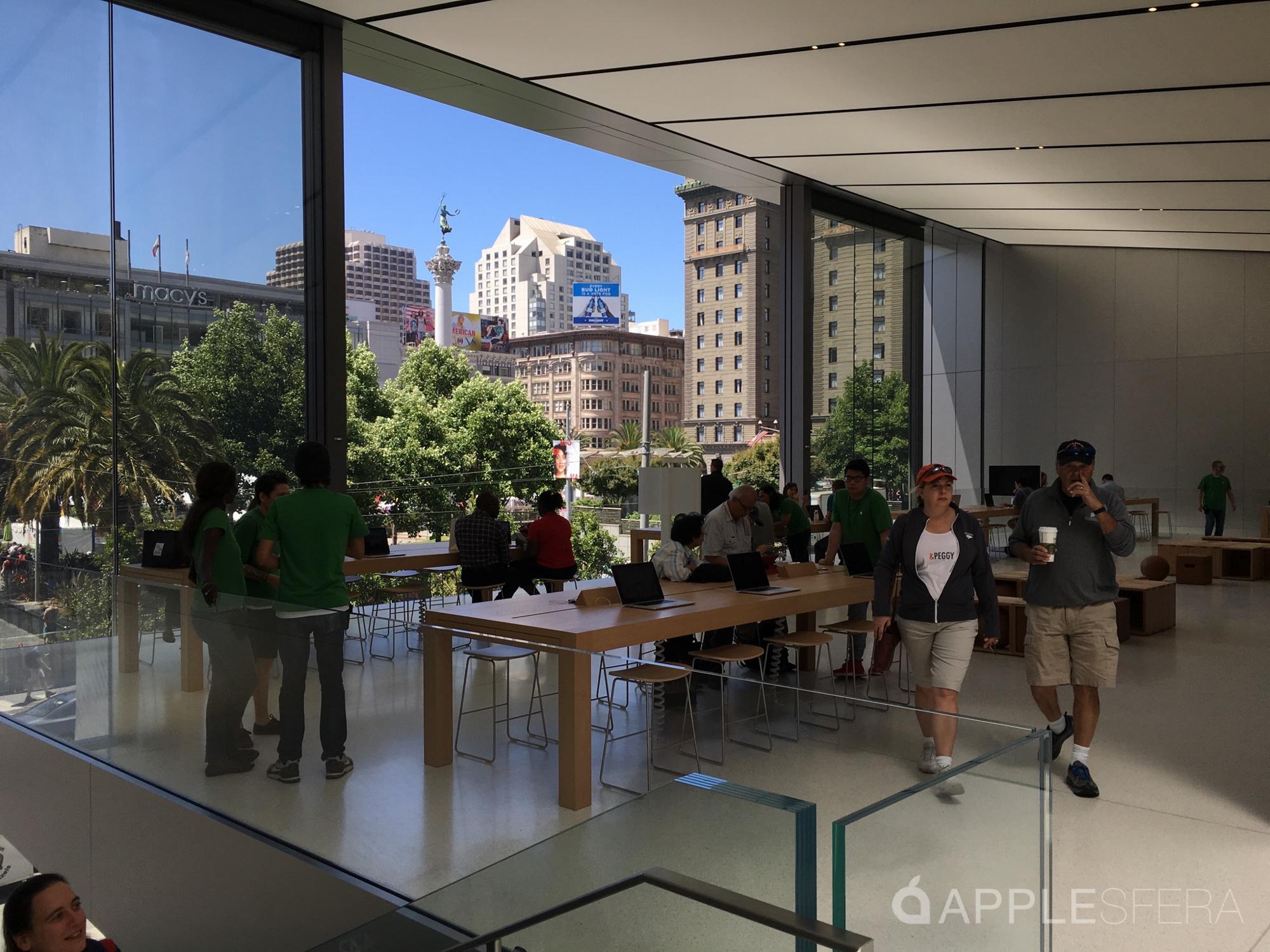 Apple Store Union Square & WWDC16 Moscone Center