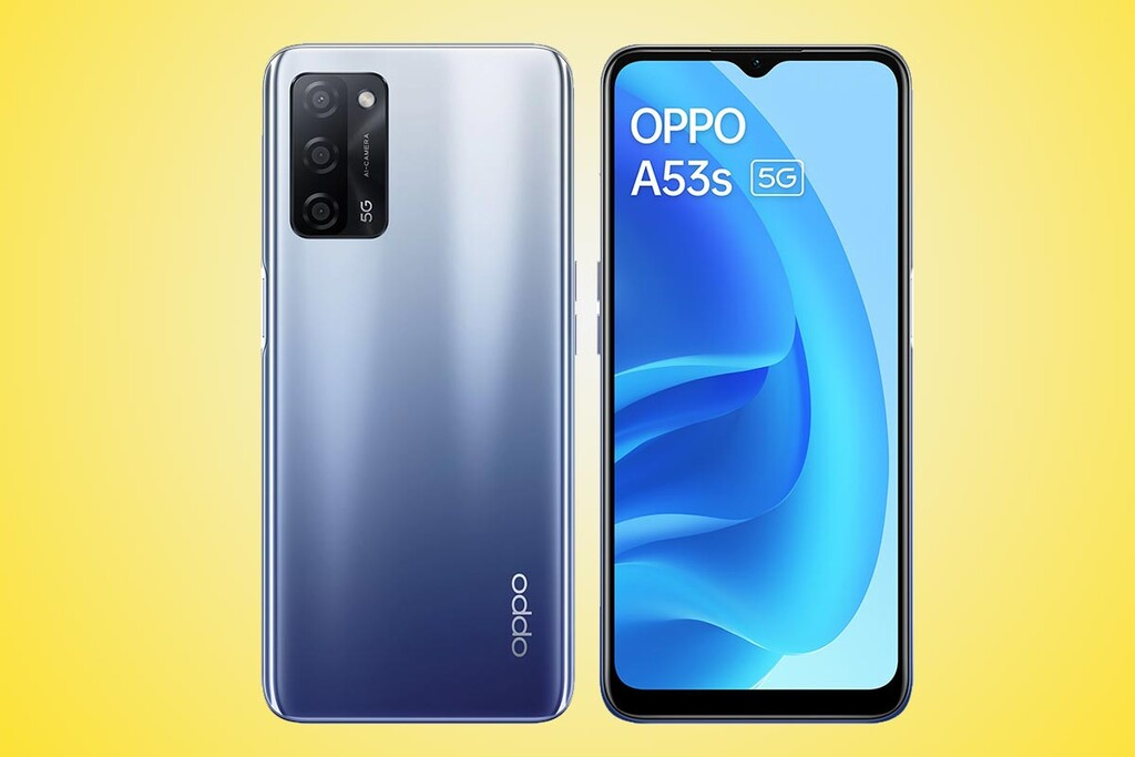 OPPO A53s 5G: el cuarto 'A53' es un teléfono 5G económico con gran batería