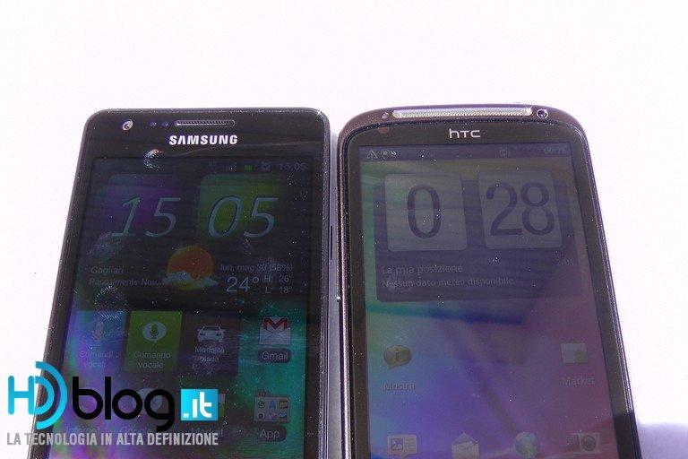 Foto de Samsung Galaxy SII vs. HTC Sensation (5/29)