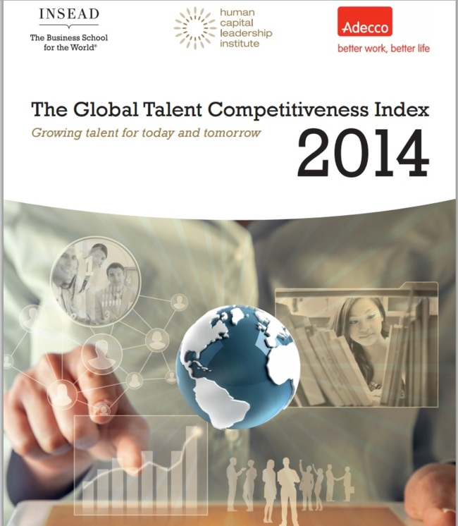 Insead: Global Talent Competitiveness Index 2014 Report