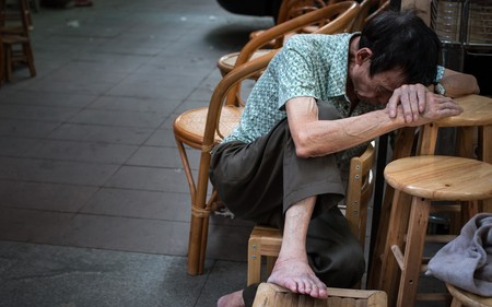 Sitting Rest Life Sleep China The Old Man 1294924 Pxhere Com