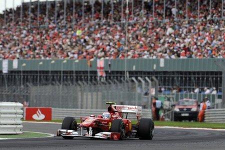 GP de Gran Bretaña 2010: Carrera para olvidar de Fernando Alonso