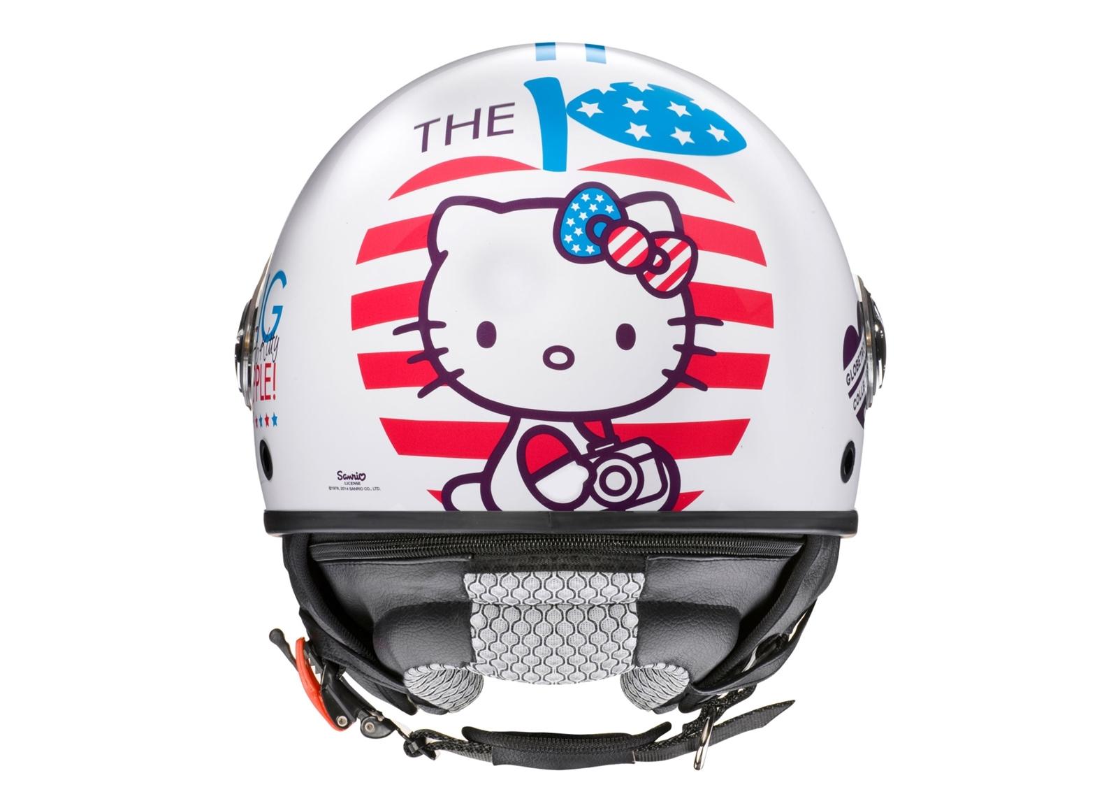 Foto de Colección de cascos jet Hello Kitty de AXO (10/12)