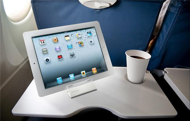 Tablets en el avión