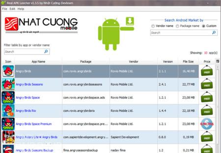 Real Apk Leecher, cómo descargar las aplicaciones de Google Play en formato apk