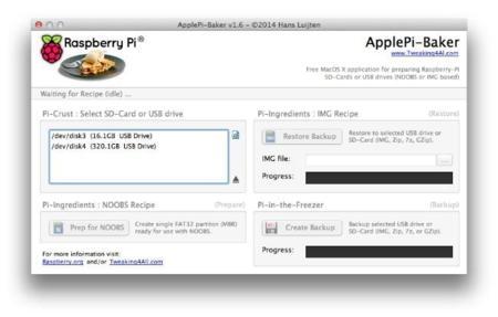 ApplePi Baker, la utilidad que no le puede faltar a tu Mac si tienes una Raspberry Pi