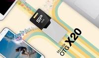 Silicon Power brinda más opciones con nueva memoria Mobile X20 de doble acceso