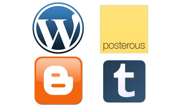 Logo de los blogs.