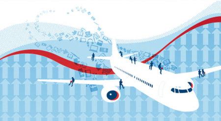 Conexión WiFi en los aviones: un reto pendiente para muchas aerolíneas