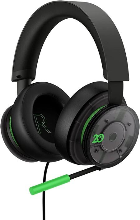 Audífonos 20 aniversario de Xbox en Amazon México