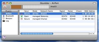 iStumbler: Descubriendo redes wifi, dispositivos Bluetooth y servicios Bonjour (a la vez)