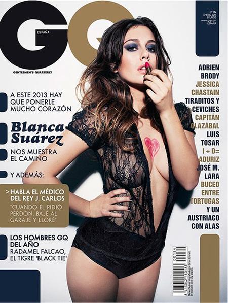 Blanca Suárez y Falcao en GQ, ¡que no nos falte de <em>ná</em>!