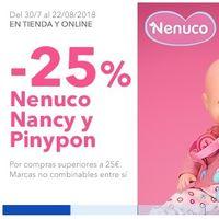 25% de descuento en Toys 'r us en más de 100 sets de Nenuco, Nancy y Pinypon