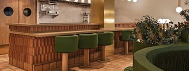 La naturaleza, los materiales naturales y las formas orgánicas, protagonistas de Pukkel, un restaurante diseñado por Masquespacio