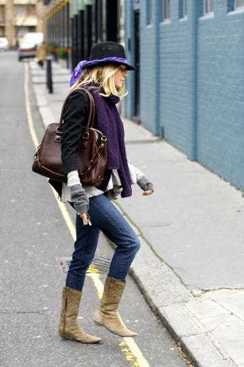 Sienna Miller vuelve a ser reina del street style, ¡cópiala!