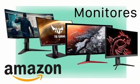 9 monitores para jugar y trabajar que puedes encontrar rebajados esta semana en Amazon