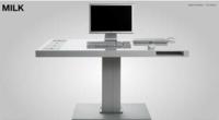 Milk, un escritorio estilo mac