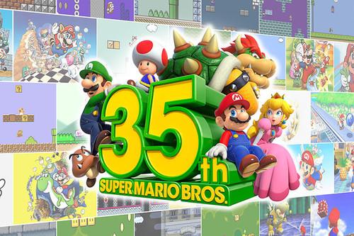 Nintendo tira la casa por la ventana en el 35º aniversario de Super Mario Bros.: aquí tienes todo lo anunciado
