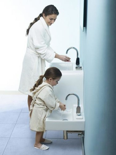 Family Basin, un lavabo para padres y peques