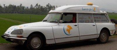 Citroën DS para dar la vuelta al mundo