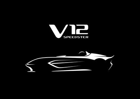 Primer teaser del Aston Martin V12 Speedster, un biplaza sin parabrisas con 690 CV: tan solo se harán 88 unidades