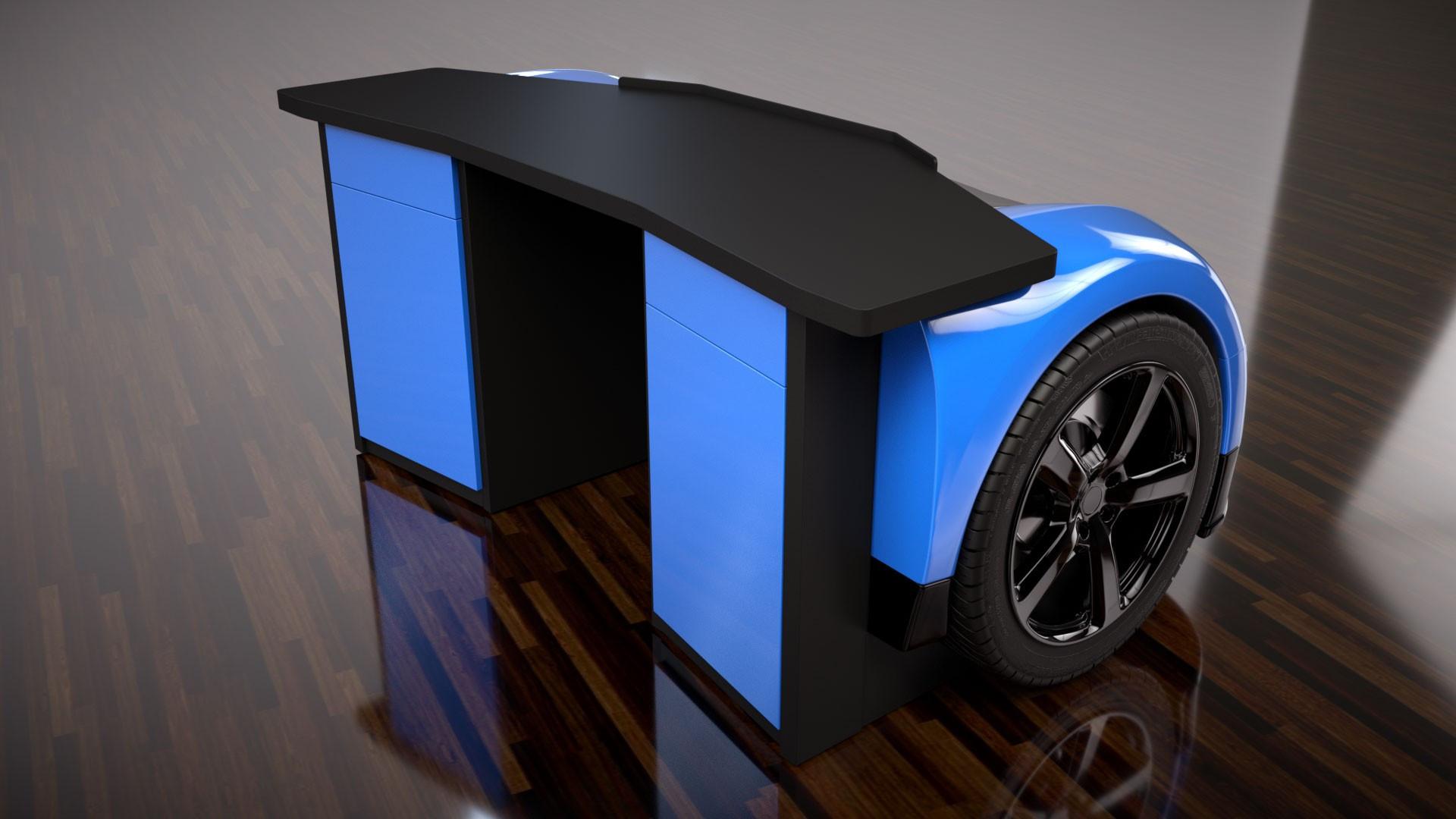 Foto de Mesa de escritorio Bugatti Veyron (4/4)