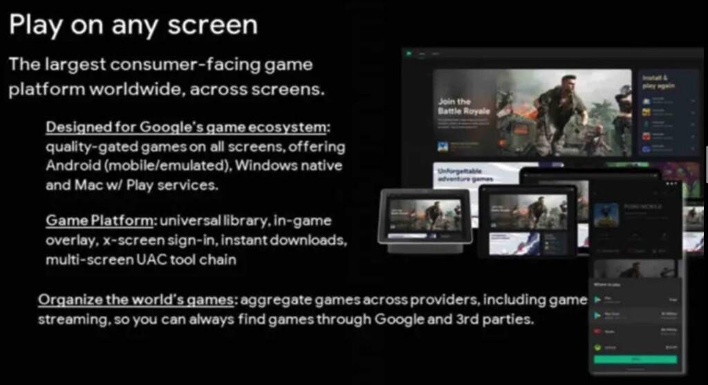 Juegos Android en MacOS: Google tiene un plan a cinco años con la marca Play Juegos, según un documento filtrado