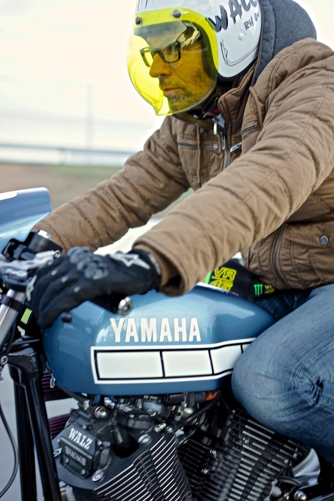 Yamaha XV950 El Ratón Asesino by Marcus Walz