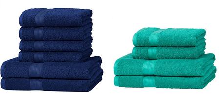 Sólo hoy: set de toallas de amazon Basics desde 13,49 euros en oferta flash de Amazon