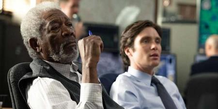 Morgan Freeman y Cillian Murphy
